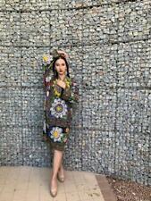 Original Vintage Embroidery Uzbek Suzani Multicolor Dress SALE WAS $135.00