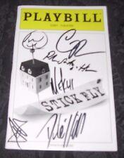 Cast signed Playbill STICK FLY, STICKFLY, Cort Theatre NYC, January 2012