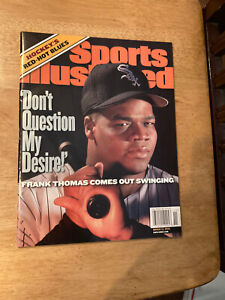 2000 Sports Illustrated Frank Thomas White Sox Newsstand Issue