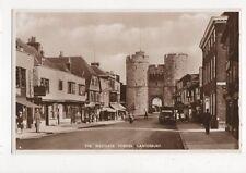 Westgate Towers Canterbury Vintage RP Postcard  226a