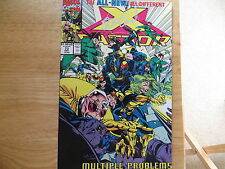 1991 VINTAGE MARVEL COMICS X-FACTOR # 73, NEW TEAM SIGNED BY PETER DAVID