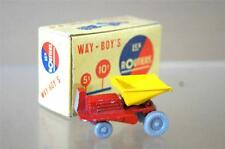 way-boys LES ROUTIERS No 6 NAIN jouets Co BENNE CARRIERE ROUGE