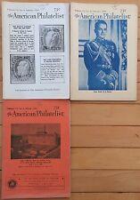 American Philatelist Magazine -1966, Volume 79, 3 Issues January,February,March