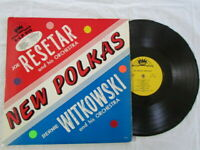 Joe Resetter and His Orchestra,New Polkas,Bernie Witkowski,Vinyl lp,Stella