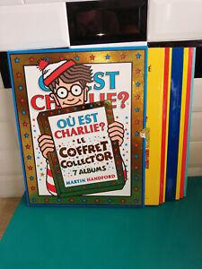 Livre BD Coffret 7 albums tomes Ou est charlie? le coffret collector M. Handford