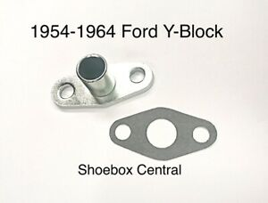 1954-1964 Ford Y Block Coolant Water Bypass Tube KIT