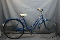 1970 Sears Vintage Cruiser Bike 48cm Small SS Coaster StepThru Steel USA Charity