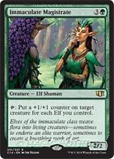 IMMACULATE MAGISTRATE Commander 2014 MTG Green Creature — Elf Shaman Rare