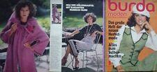 BURDA modes 1977/09 Folklore Barbie Cord Capuche tricoter 70er J. Magazine