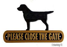 Labrador Retriever Instructional Dog Signs & Plaques