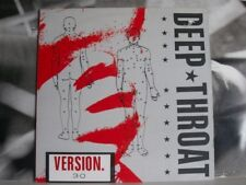 DEEP THROAT - VERSION 3.0 - LP EXCELLENT COVER: VERY GOOD+