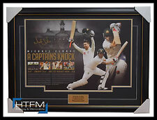 "Michael Clarke Signed ""A Captains Knock"" 329 Test Runs Not Out - RRP - $695"