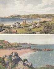 JERSEY : TWO    X  Postcards  -   Channel Islands ( E14)
