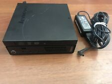 *TESTED* Lenovo ThinkCentre M72e Core i5-3470T 500GB HDD, 4gb DDR3 W/ POWER CORD