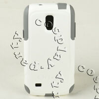 OtterBox Commuter 2-Layers Case Cover For Samsung Galaxy S4 Mini White Gray NEW