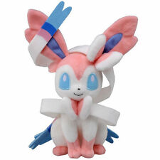 Kids Anime Pocket Monster Sylveon Stuffed Pikachu Doll Pokemon White Plush Toy