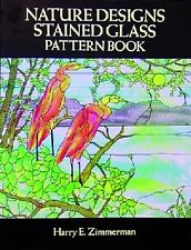 Stained Glass Pattern Book - NATURE DESIGNS