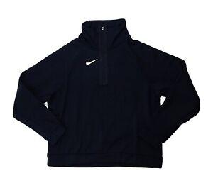 Nike Therma All Time Mock Training Half Zip Jacket Women's Medium Black CN9390