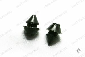 1956-57 Continental Mark II MKII LICENSE RUBBER BUMPERS, PAIR FREE SHIPPING