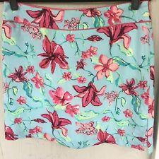 IZOD Flex Sport Skorts Resort Tennis Golfing Wear Nice Colors Floral  Size 10