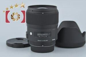 Excellent!! Sigma Art 35mm f/1.4 DG HSM for Nikon