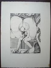 Eau-forte de Marianne De Nayer signée -  Epreuve d'artiste titrée EVE 2/50 -1971