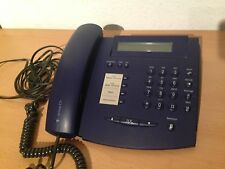 Telekom Actron C3 dunkelblau Komforttelefon Display Freisprechen T-Com