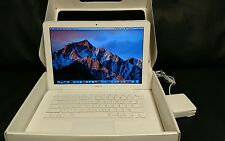 "Apple MacBook 13.3"" A1342 2010 2.4Ghz 250GB HD 8GB RAM MC516LL/A NEW OS X SIERRA"