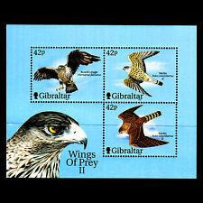 """Gibraltar 2000 - Wings of Prey II """"Birds"""" Fauna - Sc 853a MNH"""