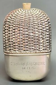 Antique Flask Gorham Sterling Silver Maritime Medical Science Military (657)