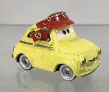 "Disney Pixar Cars Movie Moments Luigi Fiat Ferrari 2"" Willy's Butte Dirt Track"