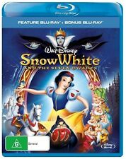Snow White And The Seven Dwarfs (Blu-ray, 2015, 2-Disc Set) (D118)