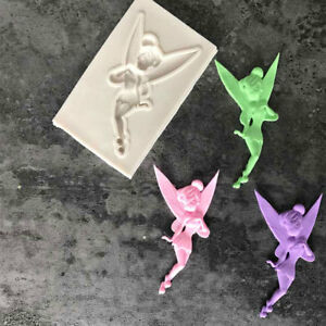 Sugarcraft Fairy Silicone Mould Fondant Cake Decorating Chocolate Moulds Tool YW