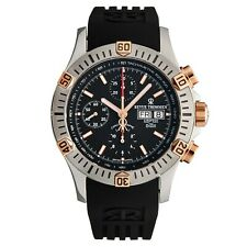 Revue Thommen Men's Airspeed Black Dial Chronograph Automatic Watch 16071.6859