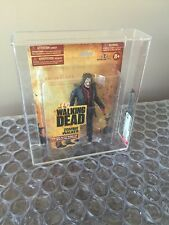 Mcfarlane AMC The Walking Dead series 1 one Zombie Biter Rare Small Card AFA 8.5