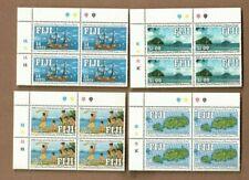 1991 Fiji Discovery Rotuma SG 827/30 Set 4 MUH Block 4