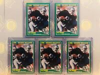 1989 (5x) Score Tim Brown #328 RC Rookie NM/M MINT Football Card Lot