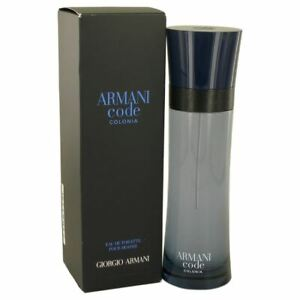 Armani Code Colonia Eau De Toilette Spray, Cologne for Men, 4.2 Oz