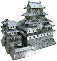 Tenyo Metallic Nano Puzzle Himeji Castle Model Kit NEW from Japan