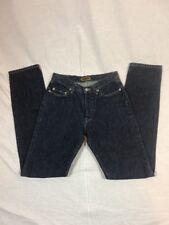 Women's Big Star Vintage Dark Wash Skinny Jeans Denim Button Fly Sz 27