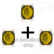 3 Interrupteur Megane 2 scenic 2 Clio 3 switch bouton carte