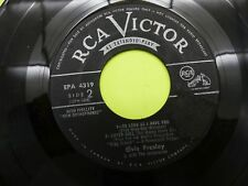 "Elvis Presley King creole / new orleans EP - 45 Record Vinyl Album 7"""