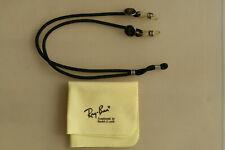 Original vintage Ray-Ban USA Bausch & Lomb Brillenband und Mikrofasertuch