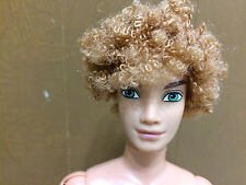2003 Barbie My Scene Bryant Ken Doll Articulate Joint Blonde Curly Hair