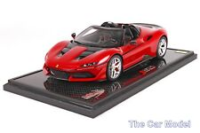 Ferrari J50 Special Edition Red on Carbon Base - Ltd 100 pcs w/ Case by BBR 1/18