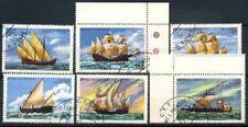 San Tommaso e il principe Isole 1979 Mi. 598-603 Usato 100% Barche