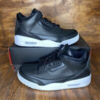 Air Jordan Retro 3 Cyber Monday 2016 Size 9 Ds Og All All Black Cyber Monday 3s