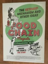 Food Chain Magnate: The Ketchup Mechanism and Other Ideas EXPANSION SEALED NEW