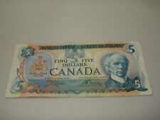 1979 - Canadian five dollar bill - $5 Canada note - 30487553228