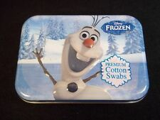 Disney Frozen Olaf collectible 3D tin 30 cotton swabs new & sealed #10
